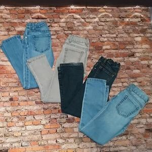 6 Piece Girls Jeans and Leggings Size Girls 6